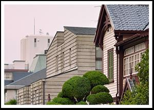 異国情緒ある兵庫家根の専門屋根修理も対応
