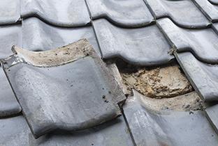 屋根重ね替き工事(カバー工法)