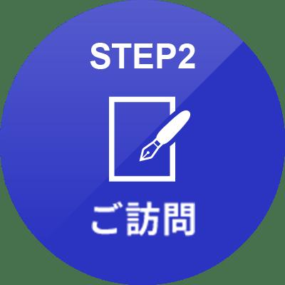 STEP 02 ご訪問